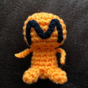 モクシチ愛…編みぐるみM宙人