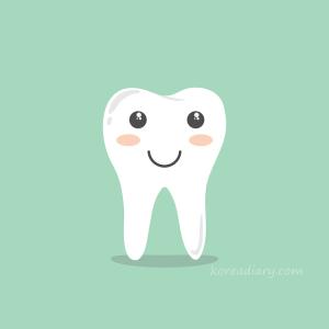歯科矯正調整日 下のワイヤー交換と虫歯チェック