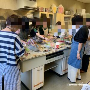 【レッスンレポ】家庭学級・手作り石けんとアロマワックスサシェ講座