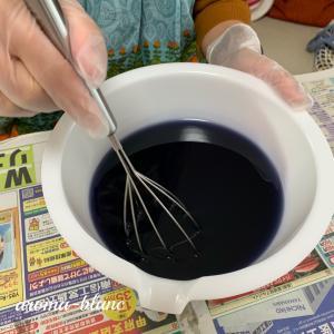 【レッスンレポ】紫根とローズヒップの石けん