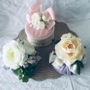 ご結婚祝いのプレゼントに添えて、サシェを