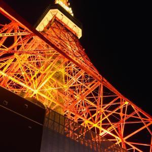 東京タワー 夕暮れ時