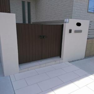 奈良市 A様邸 外構工事 完成