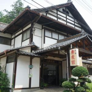塩山温泉最古の旅館「廣友館」はトンネル工事がキッカケで爆誕した!?