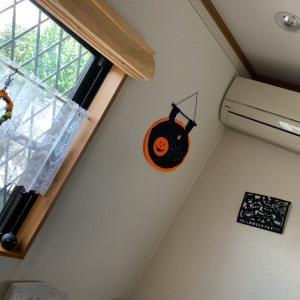 レッスン室はハロウィンです!p(^_^)q