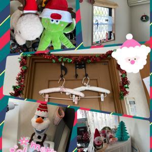 ようやくクリスマス仕様へ(*⁰▿⁰*)