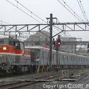 DE10+東京地下鉄07系 甲種輸送 八王子②  [今日はヘアカットの日]