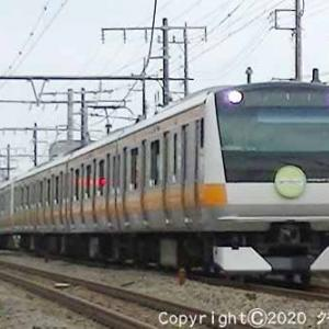 E233系「東京アドベンチャーラインで遊ぼう」ヘッドマーク付 河辺~東青梅① [手羽先記念日]