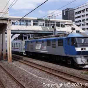 EF210-157+東武70090系71795F甲種輸送 平塚④  [今日はニワトリの日]