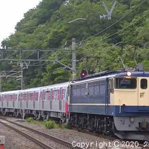 EF65 2088+都営12-600形甲種輸送 函南⑧  [今日は東京の日]