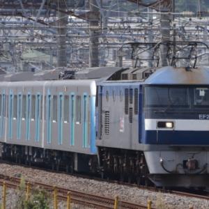 EF210-105+西武鉄道40000系 甲種輸送 大船④  [今日は串の日]