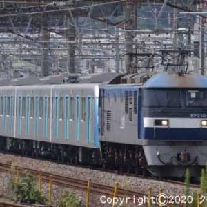 EF210-105+西武鉄道40000系 甲種輸送 大船⑤  [今日は黒の日]