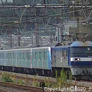 EF210-105+西武鉄道40000系 甲種輸送 大船⑥  [今日はニューヨークの日]