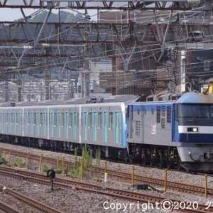 EF210-105+西武鉄道40000系 甲種輸送 大船⑧  [今日はコスモスの日]