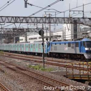 EF210-105+西武鉄道40000系 甲種輸送 大船⑨  [今日はかいわれ大根の日]