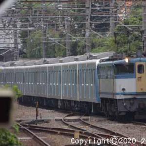 EF65 2127+西武鉄道40000系 甲種輸送 西国分寺①  [今日は空の日]