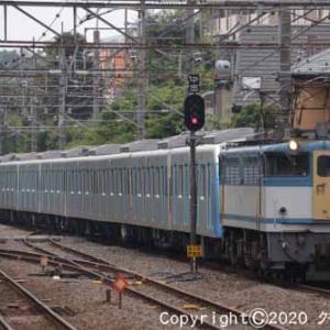 EF65 2127+西武鉄道40000系 甲種輸送 西国分寺②  [今日は秋分の日]