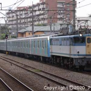 EF65 2127+西武鉄道40000系 甲種輸送 西国分寺④  [今日はプライバシーの日]