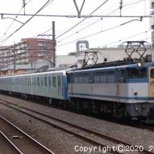 EF65 2127+西武鉄道40000系 甲種輸送 西国分寺⑦  [今日は国際協力の]