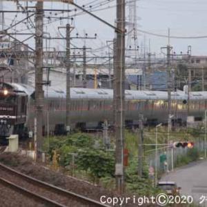EF64 1052+E26系 団体「カシオペア紀行」 東川口①  [今日は豆乳の日]
