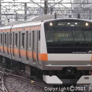 甲種輸送 EF65 2050+西武鉄道 新101系 立川① [今日は穴子の日]