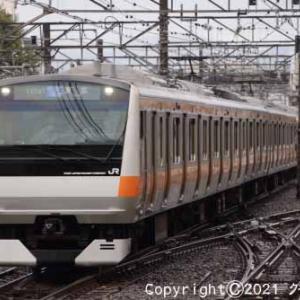 甲種輸送 EF65 2050+西武鉄道 新101系 立川① [今日は松阪牛の日]