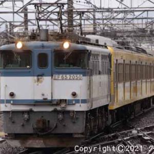 甲種輸送 EF65 2050+西武鉄道 新101系 立川⑥ [今日はかき氷の日]