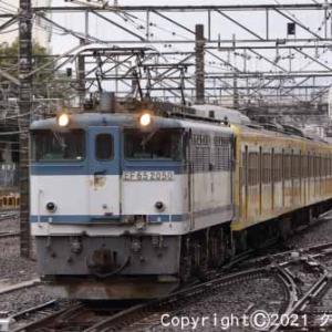 甲種輸送 EF65 2050+西武鉄道 新101系 立川⑧ [今日はプロレス記念日]