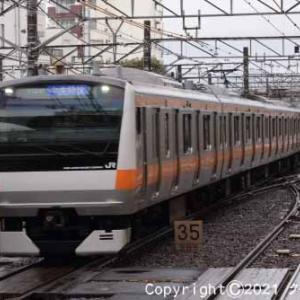 甲種輸送 EF65 2050+西武鉄道 新101系 立川➈ [今日はパラグライダー記念日]