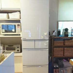 新しい冷蔵庫に慣れるまで①
