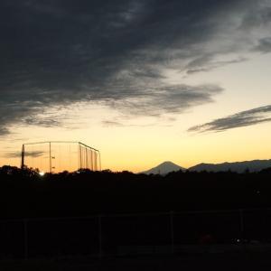 出先で 富士山 !