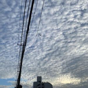 うろこ雲。