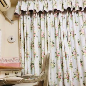 その5 ローラアシュレイのオーダーカーテンを自宅で洗ってみた