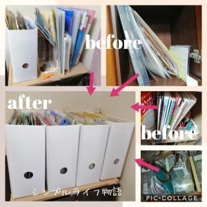 家の書類整理の方法とコツ。ビフォーアフターを公開します。