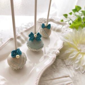 【オンライン募集】ケーキポップスレッスン