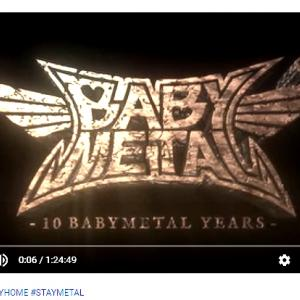 #BABYMETAL #STAYHOME #STAYMETAL【LIVE AT HOME】LIVE AT TOKYO DOME - RED NIGHT/ BLACK NIGHT