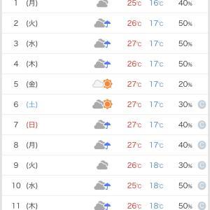梅雨入りするの?
