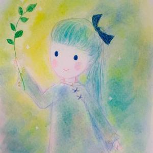 新作 天の彩アート 「スクナヒコナ様」