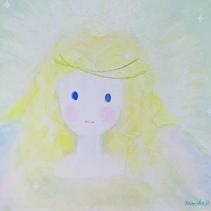 愛のスピリットアート*「大天使ミカエル様」