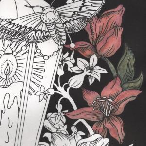 『第14回大人の塗り絵コンテスト』進捗3