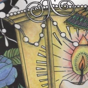 『第14回大人の塗り絵コンテスト』進捗13