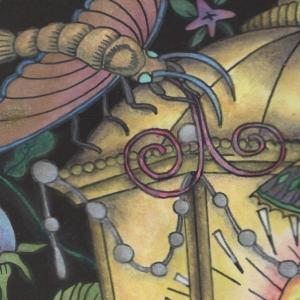 『第14回大人の塗り絵コンテスト』進捗18