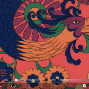 『第15回大人の塗り絵コンテスト』用色設計6