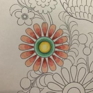 『第15回大人の塗り絵コンテスト』用一次試作2