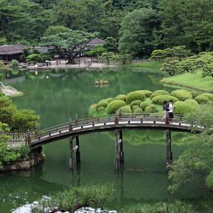 栗林公園(3)〜南湖の鯉〜