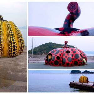 〜Gachanとblue_rose_92〜 「UK-6写真展」から(2) #黄かぼちゃと赤かぼちゃ