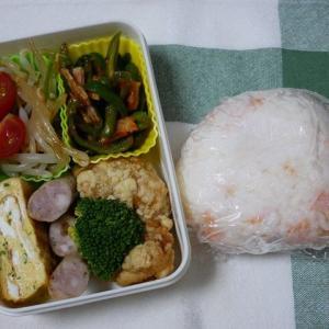 コストコからあげのお弁当&餃子ホタテみそ焼きのお夕飯