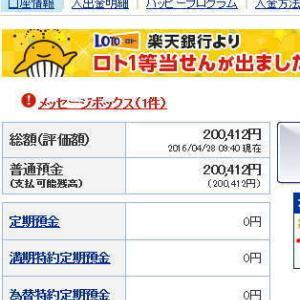 祝20万円