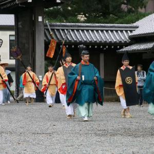 時代祭 令和元年(2019) 御所へ集まる