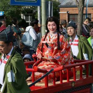 長岡京ガラシャ祭2019 行列巡航